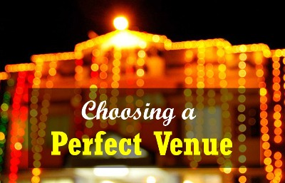 tips for selecting wedding venues