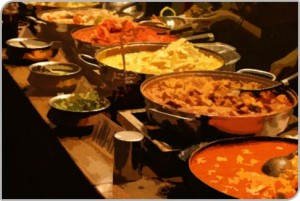 Catering Layout in Wedding