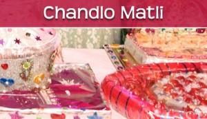 Gujarati Wedding Chandlo Matli