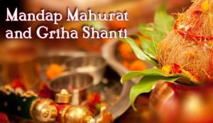 Gujarati Wedding Mandap Mahurat